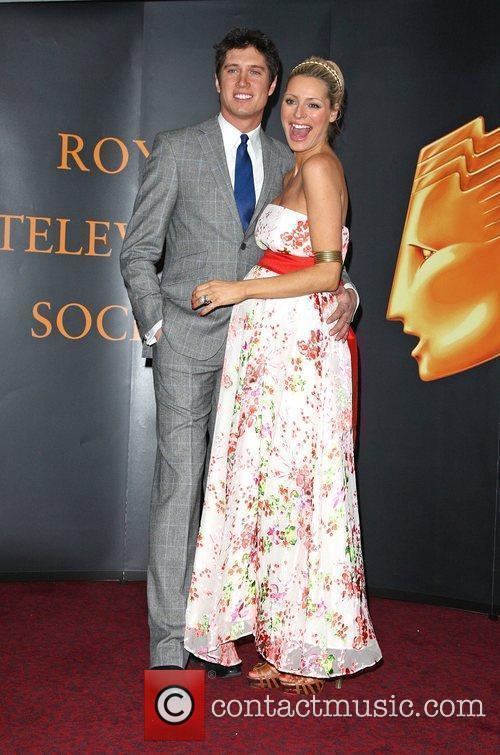 Vernon Kaye and Tess Daly Royal Television Society...
