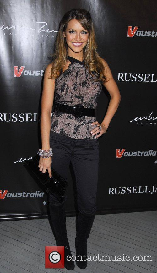 Chishell Stause The launch of 'Russell James' at...