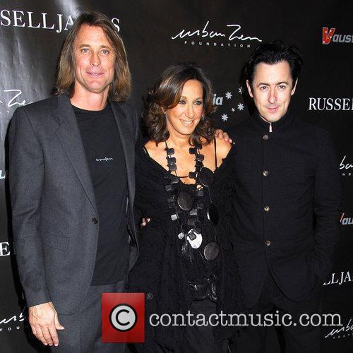 Russell James, Donna Karan and Alan Cumming The...