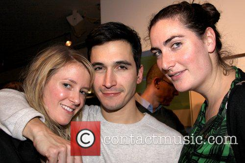 Amy Greenspon, Lazaro Hernandez and Rebecca Guinness The...