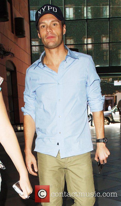 Ryan Seacrest leaving a Medical Center in Beverly...