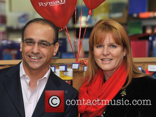 Dragons' Den Panelist, Sarah Ferguson, The Duchess Of York and Theo Paphitis 6