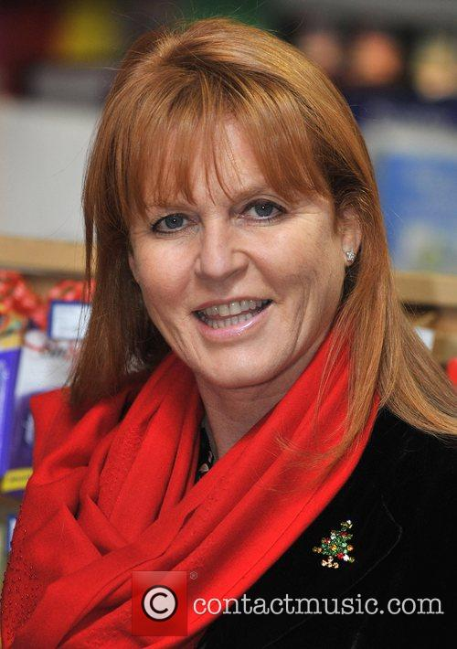 Dragons' Den Panelist, Sarah Ferguson, The Duchess Of York and Theo Paphitis 10