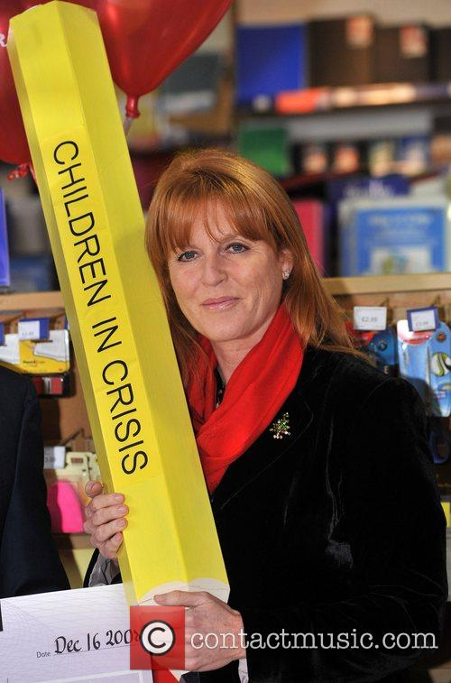 Dragons' Den Panelist, Sarah Ferguson, The Duchess Of York and Theo Paphitis 5