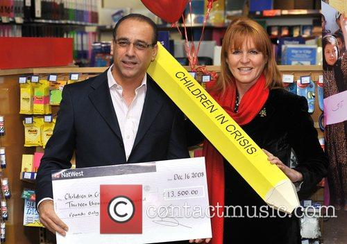 Dragons' Den Panelist, Sarah Ferguson, The Duchess Of York and Theo Paphitis 2