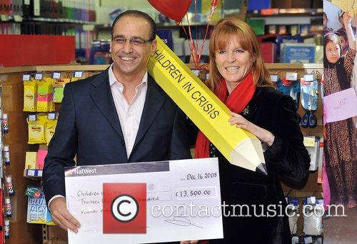 Dragons' Den Panelist, Sarah Ferguson, The Duchess Of York and Theo Paphitis 11