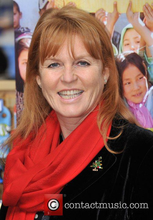 Dragons' Den Panelist, Sarah Ferguson, The Duchess Of York and Theo Paphitis 9