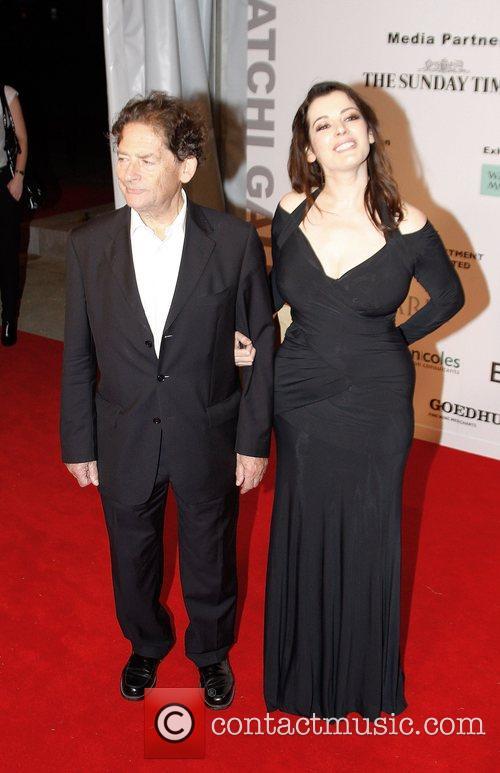 Charles Saatchi and Nigella Lawson