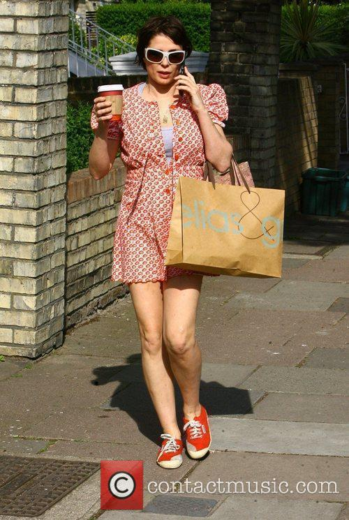 Sadie Frost out and about in North West...