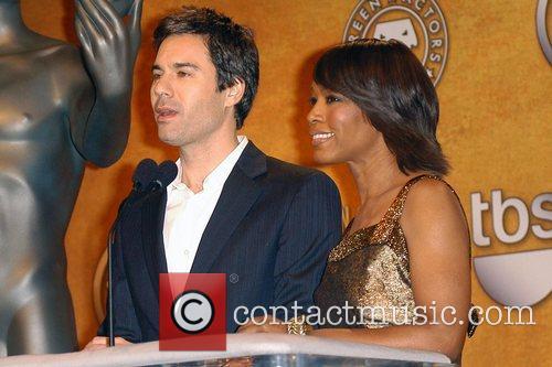 Eric McCormack and Angela Bassett 2008 Screen Actors...