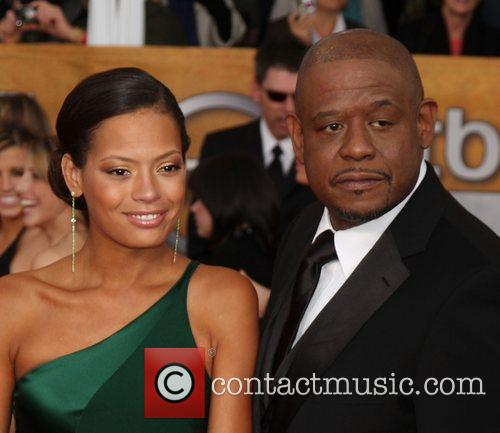 Keisha Whitaker and Forest Whitaker 1