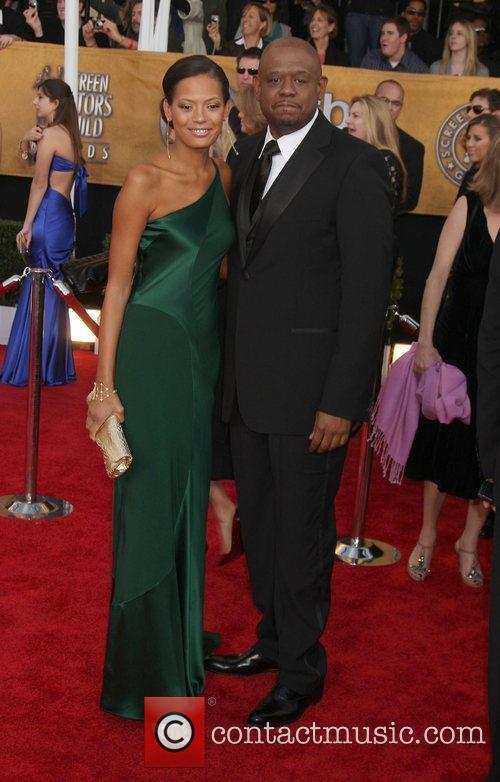 Keisha Whitaker and Forest Whitaker 2