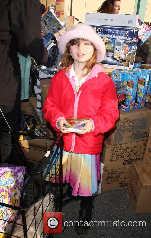 Charlotte Brenneman The Salvation Army 'Making Miracle' sponsored...