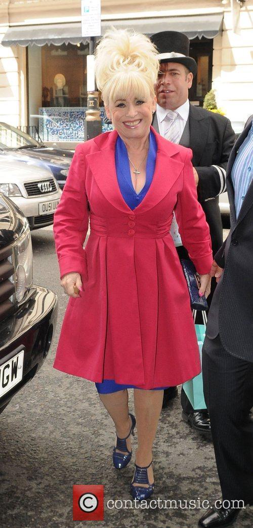 Barbara Windsor at Samantha Janus' wedding held at...