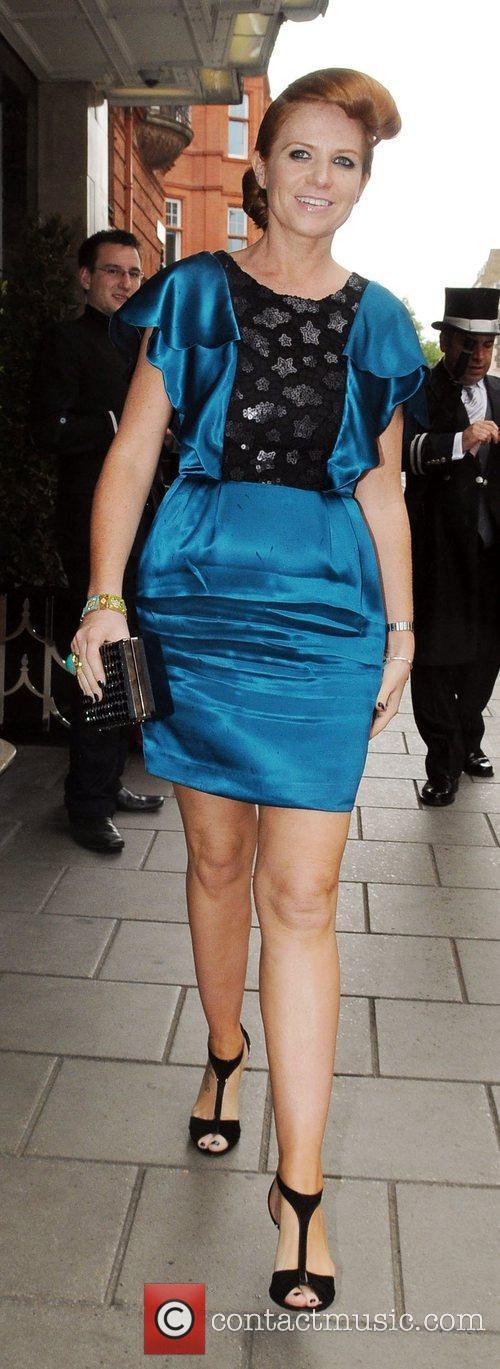 Patsy Palmer at Samantha Janus' wedding held at...