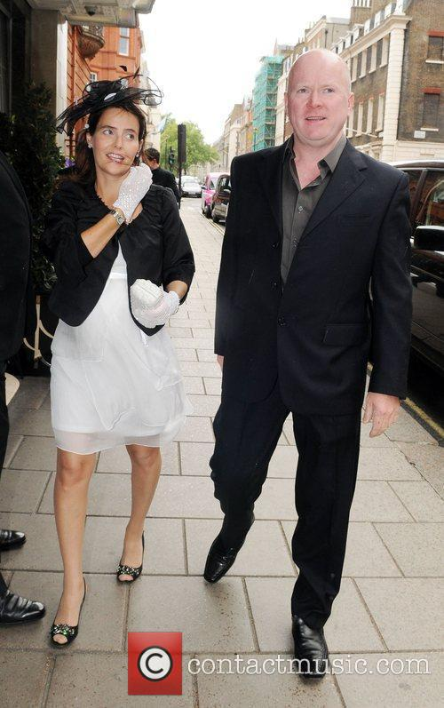 Steve McFadden and Rachel Green at Samantha Janus'...