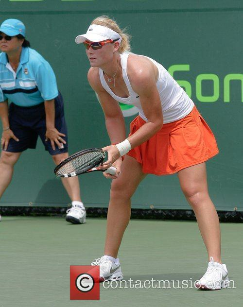 During day 7 of the Sony Ericsson Open...