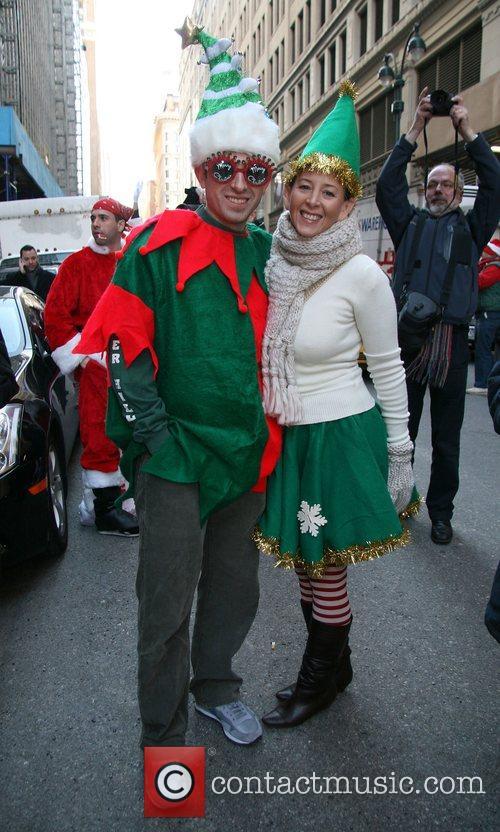 Santacon 2008 where over 4000 santas took to...