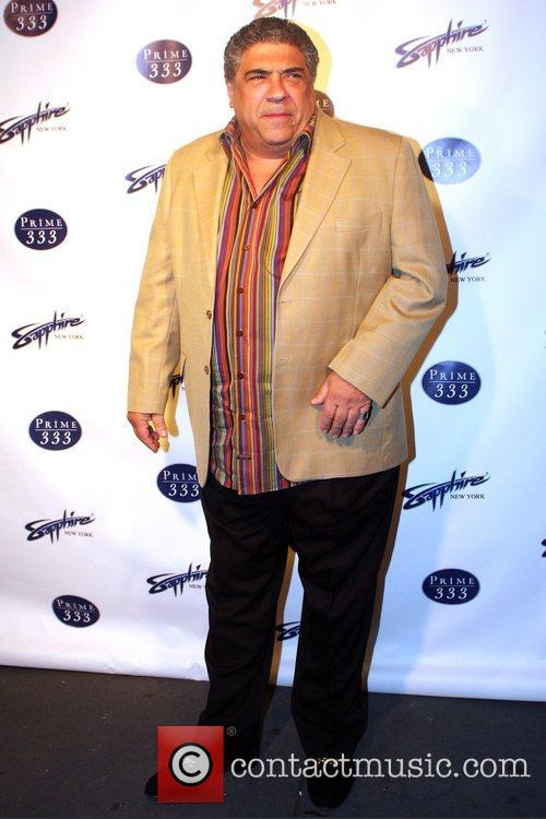 Vincent Pastore Grand opening of Sapphire New York...