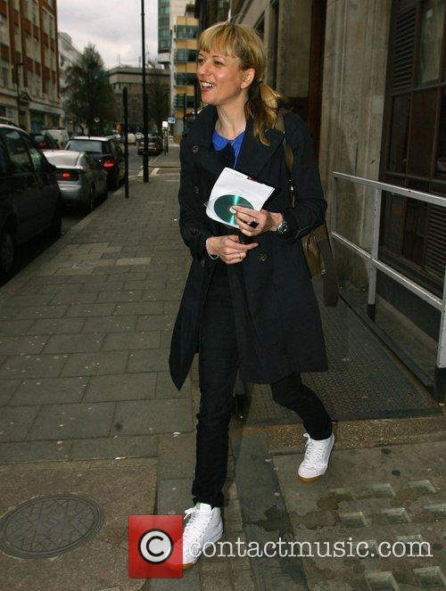Leaves the Radio 1 studios with a huge...