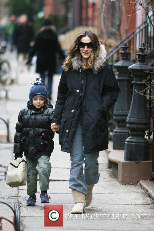 Sarah Jessica Parker and her son James Wilkie...