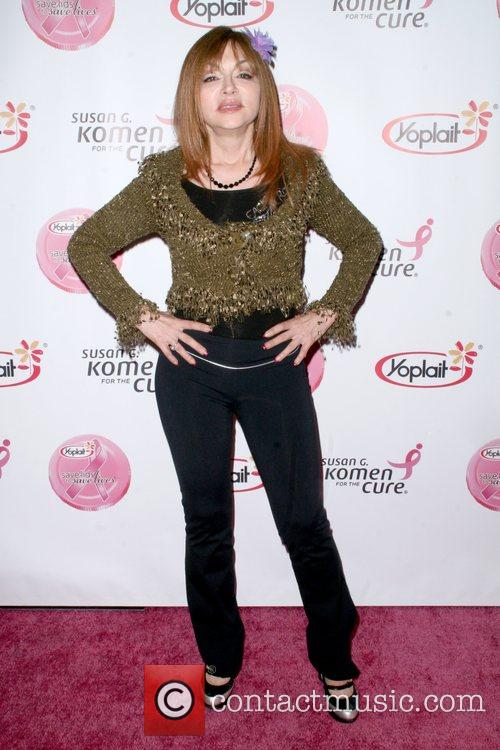 Judy Tenuta arrives at the Saves Lives concert...