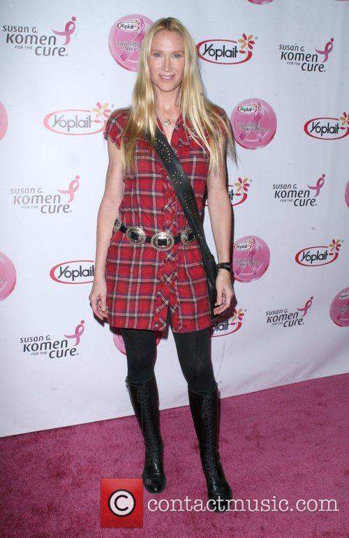 Kelly Lynch arrives at the Saves Lives concert...