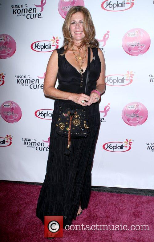 Rita Wilson arrives at the Saves Lives concert...