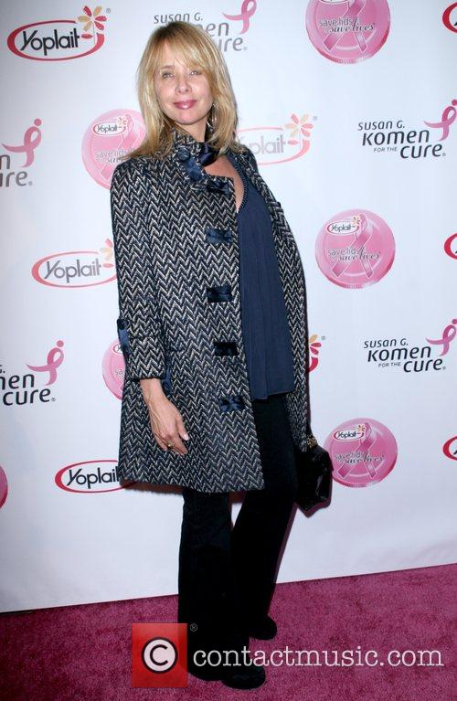 Rosanna Arquette arrives at the Saves Lives concert...