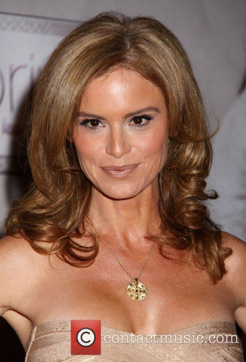 Betsy Russell arrives at the 'Saw V' Premiere...