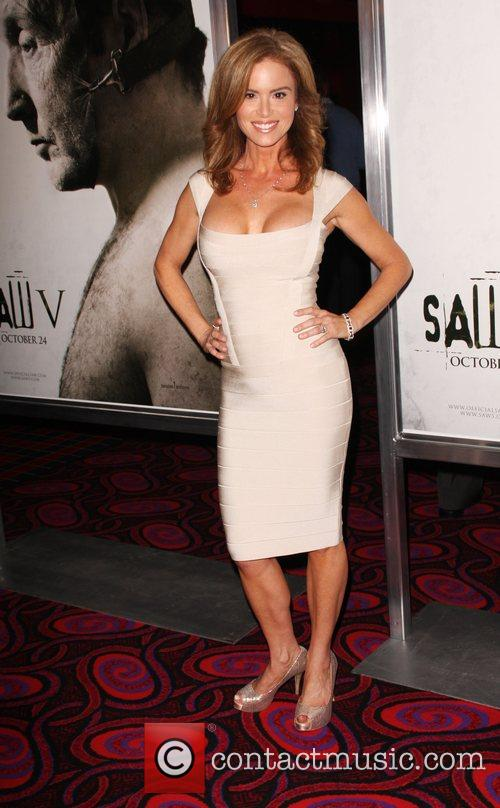 Betsy Russell Saw V Los Angeles World premiere...