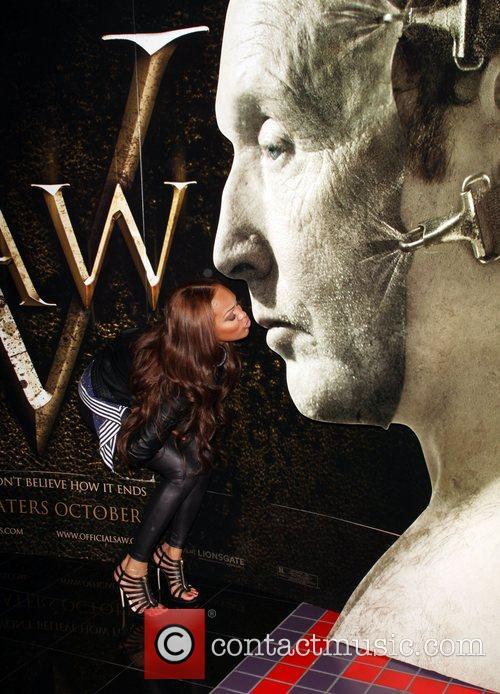 Meagan Good Saw V Los Angeles World premiere...