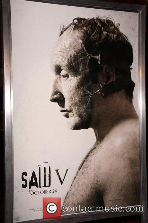 Poster Art Saw V Los Angeles World premiere...