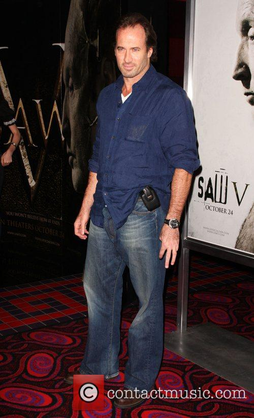 Scott Patterson Saw V Los Angeles World premiere...