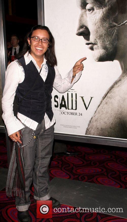Effren Ramirez Saw V Los Angeles World premiere...