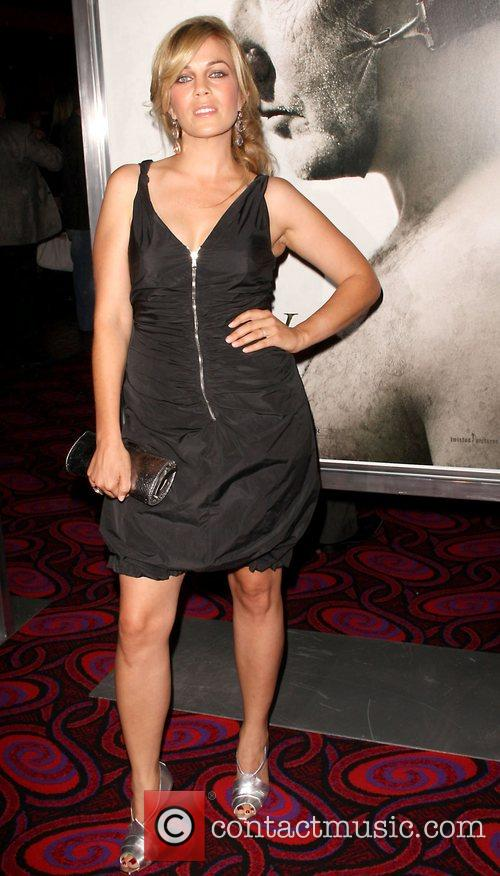 Samantha Lemole Saw V Los Angeles World premiere...