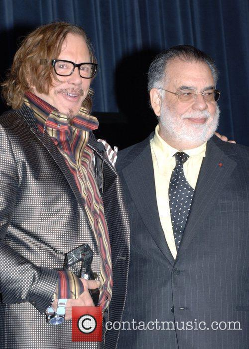 Mickey Rourke and Francis Ford Coppola 8