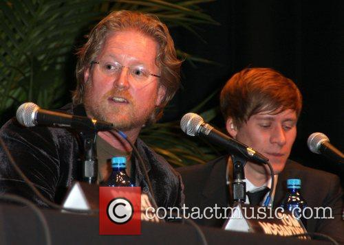Andrew Stanton and Dustin Lance Black Santa Barbara...