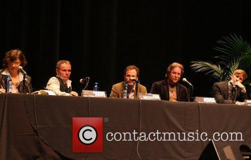 Robert Knott, Tom McCarthy, Andrew Stanton and Dustin...