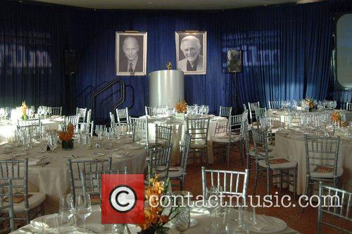 Atmosphere Ed Harris receives the Santa Barbara International...