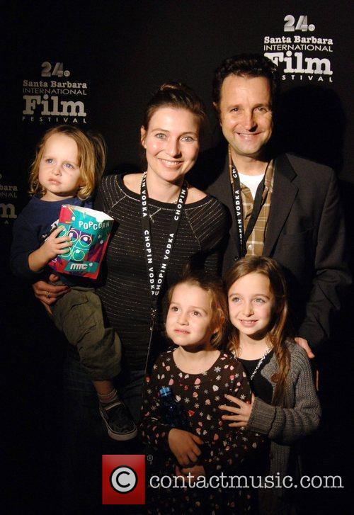 Richard Gabai and family Santa Barbara International Film...