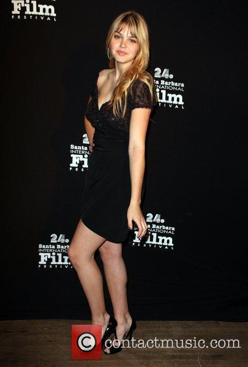 Aimee Teegarden Santa Barbara International Film Festival 2009...