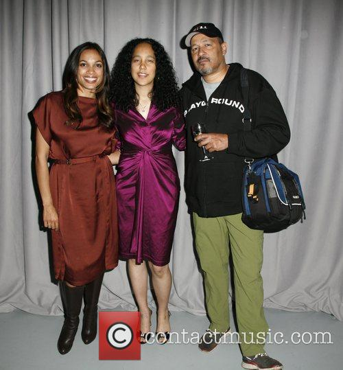 Rosario Dawson, Gina Prince- Bythewood and Clark Johnson 11
