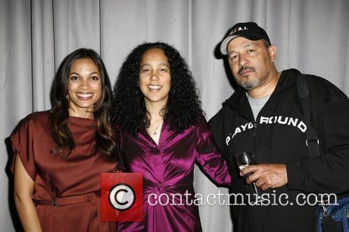 Rosario Dawson, Gina Prince- Bythewood and Clark Johnson 6