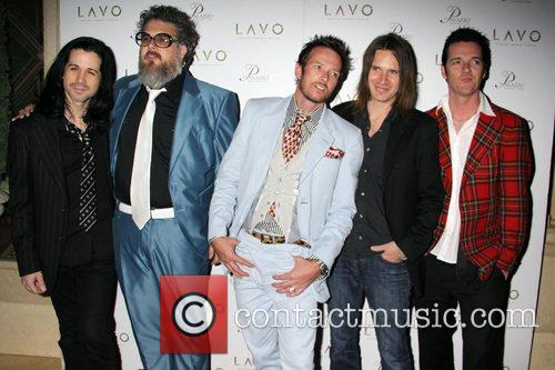 Scott Weiland and his band Album release party...