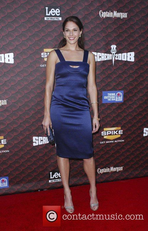 Amanda Righetti Spike TV's Scream 2008 Awards at...