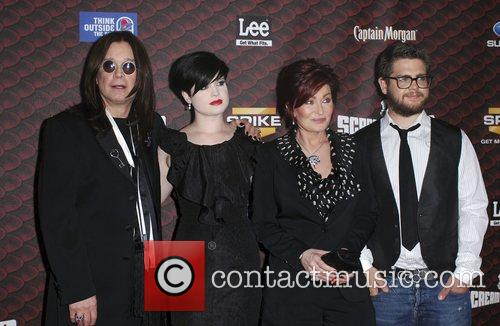 Ozzy Osbourne, Kelly Osbourne and Sharon Osbourne 2