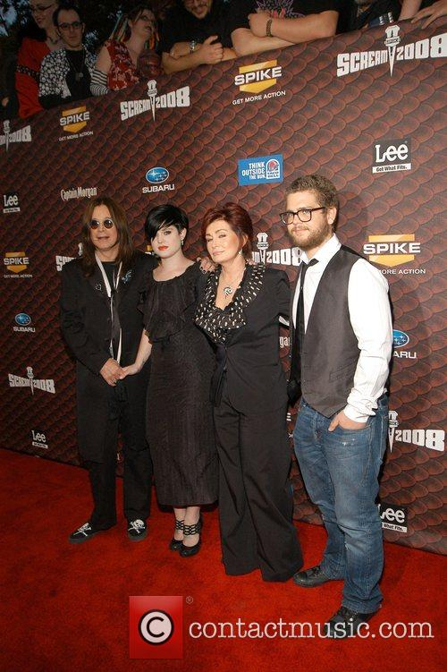 Ozzy Osbourne, Kelly Osbourne and Sharon Osbourne 3