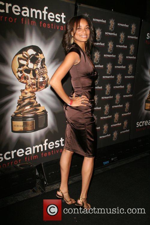 Rochelle Aytes 8th Annual Screamfest Horror Film Festival's...