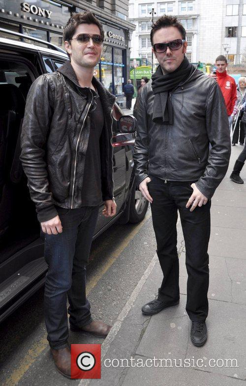 Danny O'Donoghue and Glen Power (The Script) Members...
